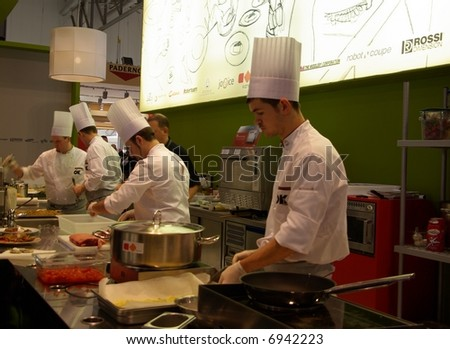 Show cooking time - stock photo