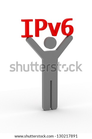 Show the new Internet technology - stock photo
