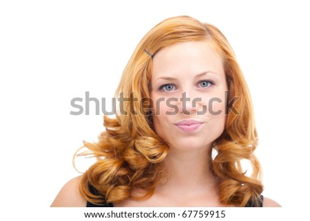 Show Your Face - stock photo