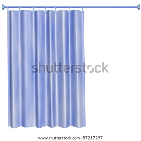 Shower curtain Stock Photos, Shower curtain Stock Photography