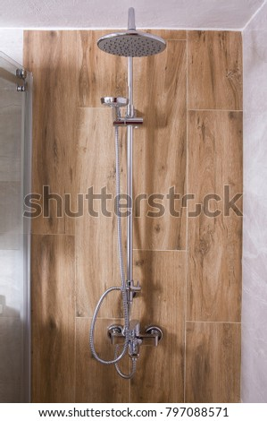 Shower Head Bathroom Stock Photo (Royalty Free) 797088571 - Shutterstock