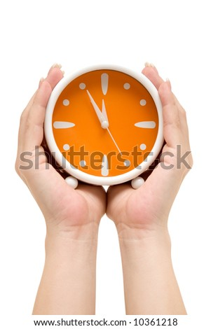 Showing Time - stock photo