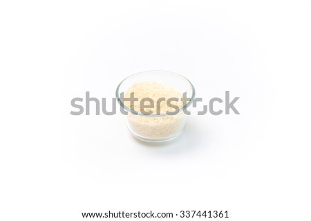 Shredded cheese ready for cooking - stock photo