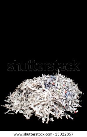 Shredded Paper - stock photo