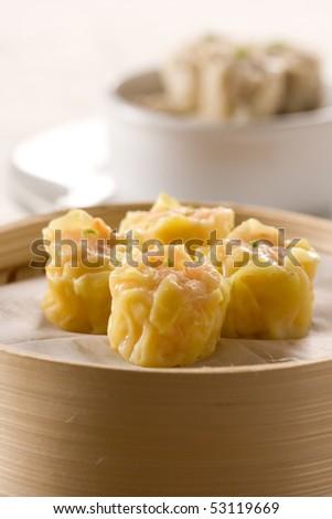 Shrimp Dim-Sum - stock photo