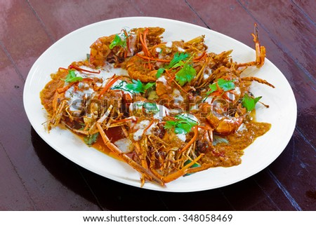 Shrimp Sauce eye appetizing look beautiful. - stock photo
