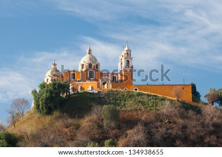 Shrine of Remedies , Cholula, Puebla (Mexico)