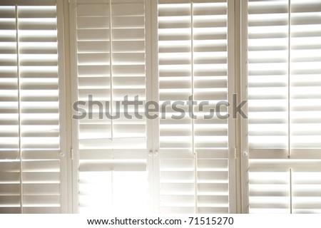 shutter light - stock photo