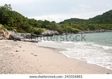 Sichang island near Sriracha (Chonburi, Thailand) - stock photo