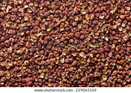 Sichuan pepper , Szechuan pepper , Chinese prickly ash - stock photo