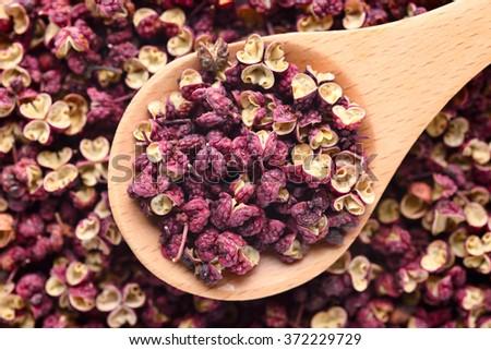 Sichuan Peppercorns - stock photo