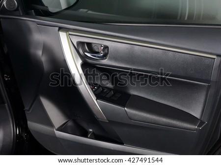 Side Door Panel Interior Design Inside Stock Photo 100 Legal