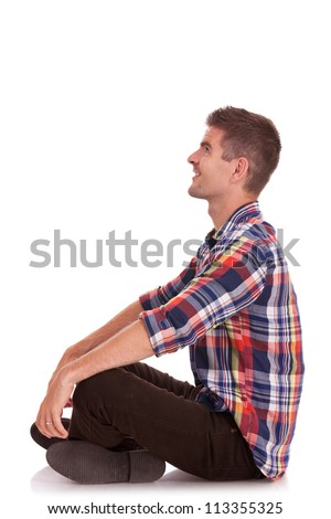 Man Legs Crossed Stock Photos Images Amp Pictures