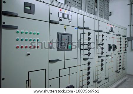Side Views Power Electric Main Distribution Stock Photo 1009566961 ...