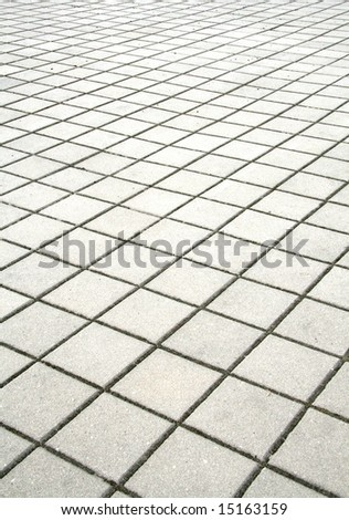 Sidewalk - stock photo