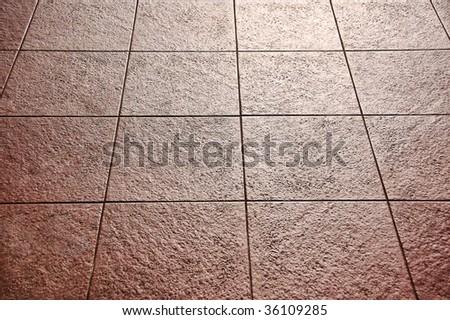 Sidewalk pavement - stock photo