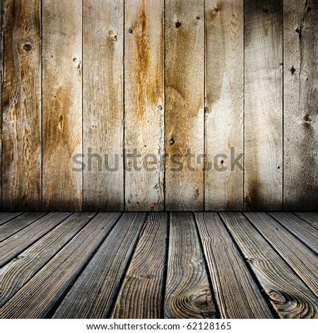 siding weathered wood background - stock photo