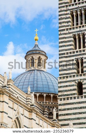 Siena Cathedral, Duomo di Siena, Italy - stock photo
