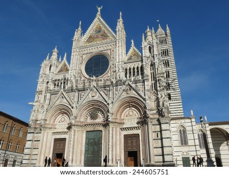 Siena, Italian medieval town - Cathedral