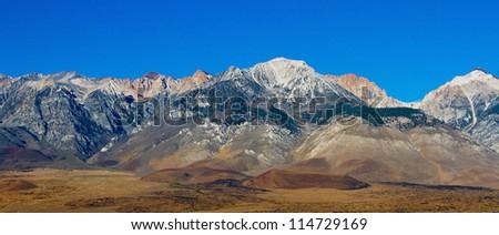 Sierra Nevada Mountains in California, USA - stock photo