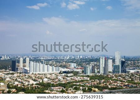 Sight airs of Guadalajara, Jalisco, Mexico - stock photo