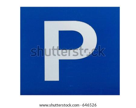 sign - stock photo
