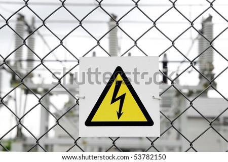 sign danger - stock photo