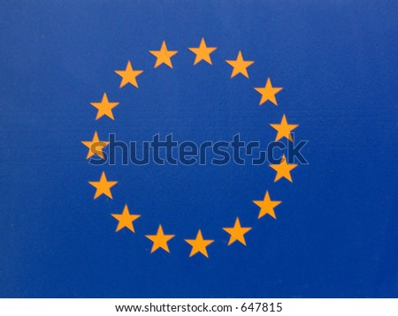 sign flag - stock photo