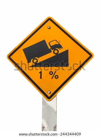 Sign of the street. - stock photo