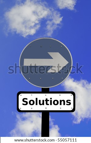 Sign Pointing the Way to Solutions