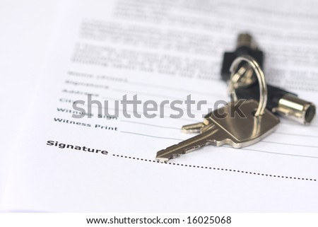 Sign to get your house key