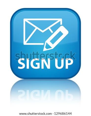 Sign Up Button Blue   www.pixshark.com - Images Galleries ...