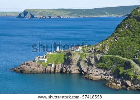 Signal Hill Lighthouse - stock photo