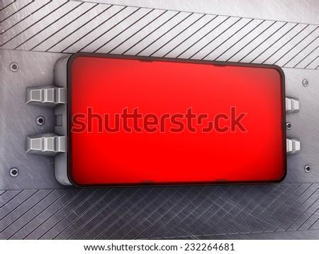 Signboard - stock photo