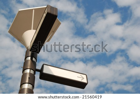 Signpost at Road Intersection