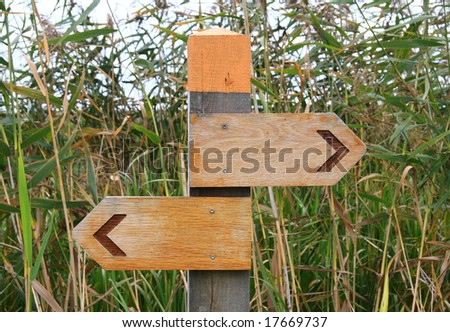 signs - stock photo