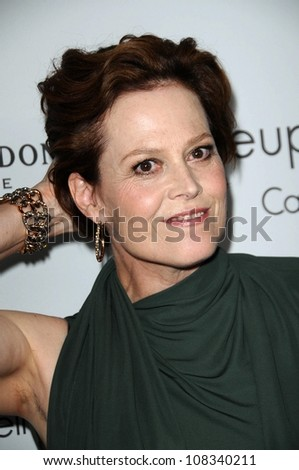 Sigourney Weaver  at ELLE Magazine's 15th Annual Women in Hollywood Event. Four Seasons Hotel, Beverly Hills, CA. 10-06-08