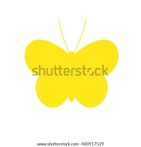 Silhouette Butterfly
