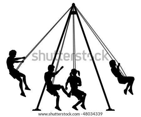 Dibujos De Columpio Para Colorear also Clip Art Cartoon School Scene Playground 02 Coloring Page 33453 likewise Park details in addition A Swing And Miss Coloring Sketch Templates in addition Shaded Works. on park swings