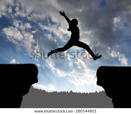 Jump over stock photos images pictures shutterstock for Jump the gap