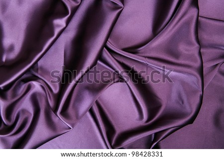 Silk background - stock photo