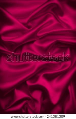 silk fabric background - stock photo