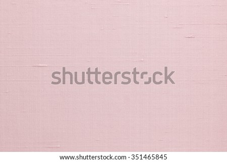 Silk fabric wallpaper texture pattern background in light pale old rose pink color tone: Fine natural raw Thai silk detail textured organic fiber textile backdrop in orange pink rose toned colour  - stock photo