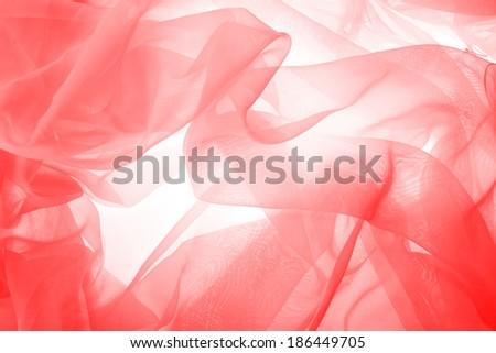 silk textured cloth background, closeup - stock photo