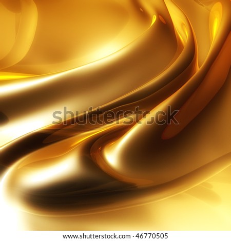 Silky elegant gold abstract background