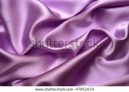 Silky pink satin for backgrounds