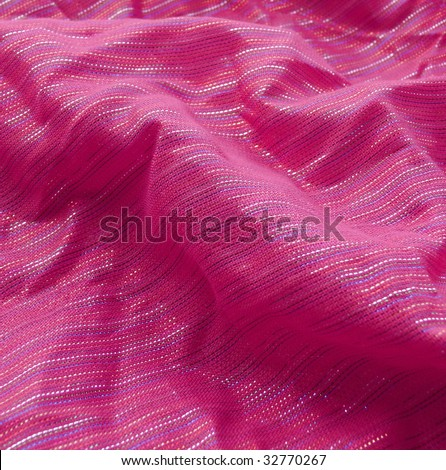 Silky pink textile closeup. More of this motif & more textiles in my port.