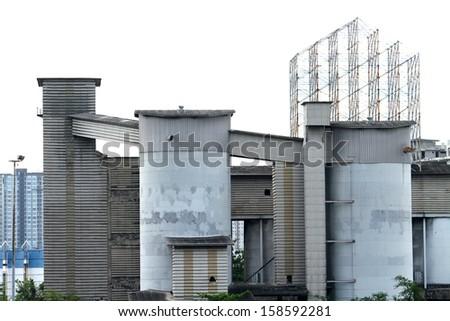 Silo in Thailand - stock photo