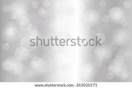 Silver abstract background - stock photo