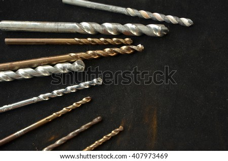 Silver and bronze bits for different material penetration